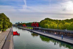 Parc de la Villette in Paris, France