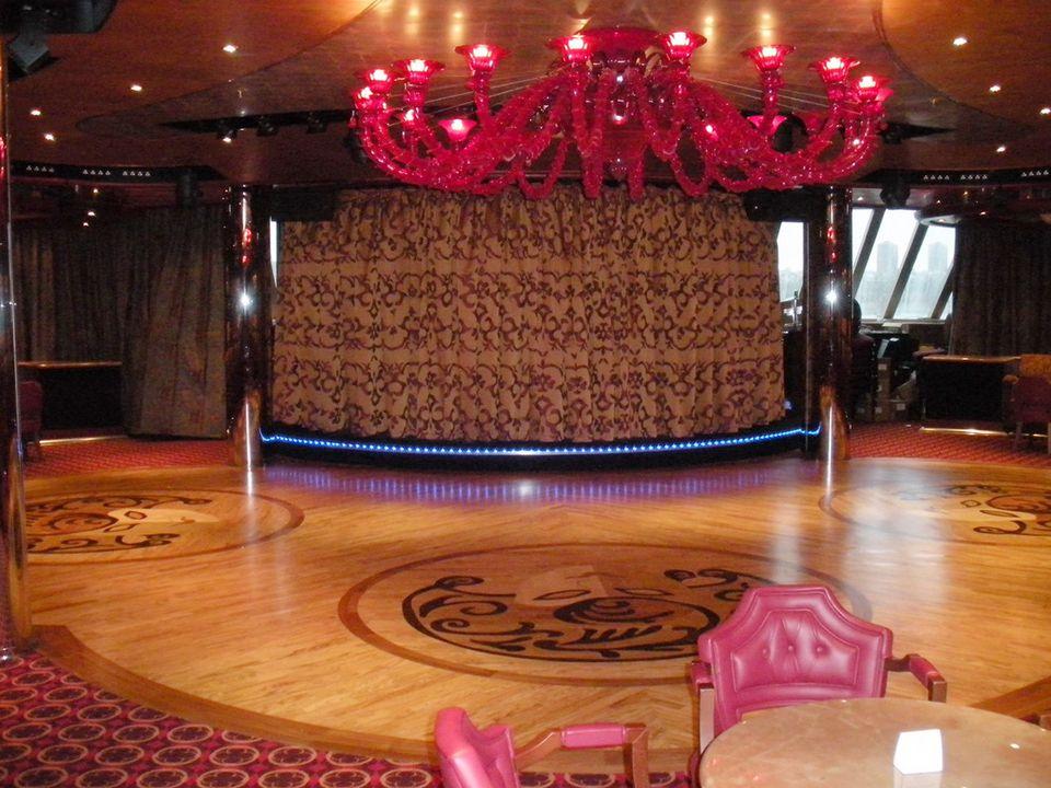 Carnival Dream Burgundy Lounge