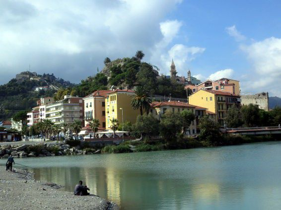 Ventimiglia, With the Old Town on the Hill