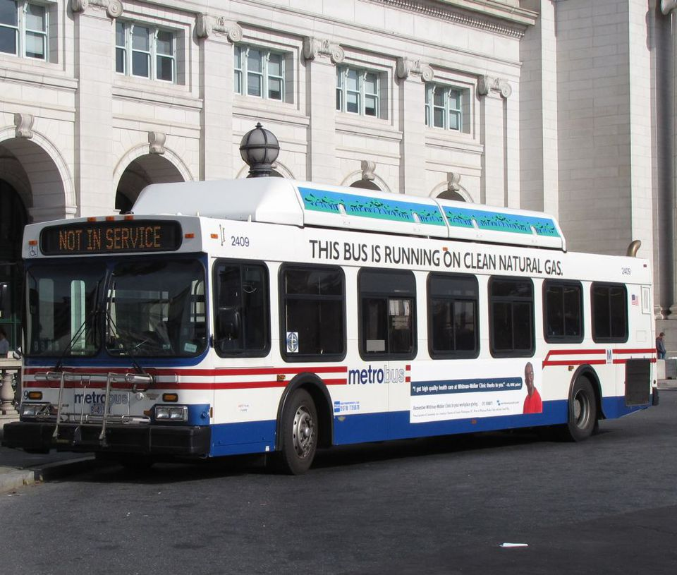 Using the Washington DC Metrobus on