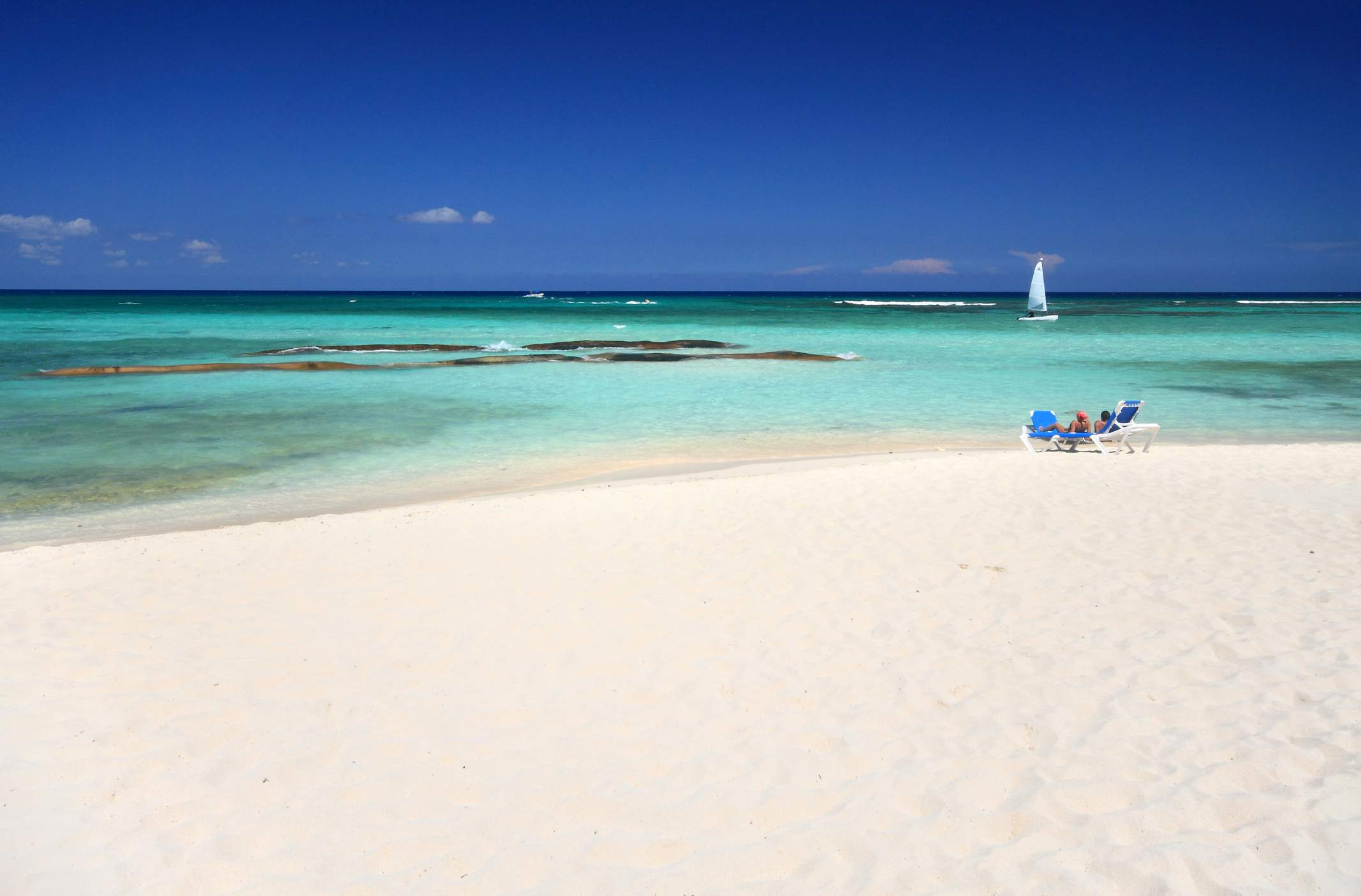 Amazing sand and beaches can be found in Mexico