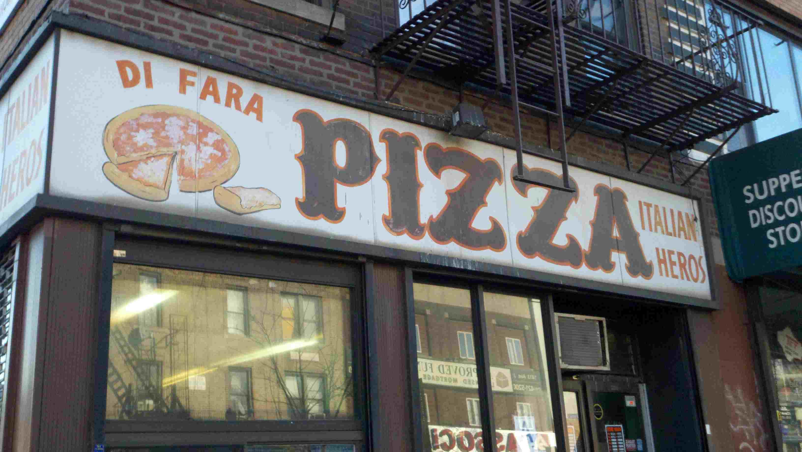 di fara pizza place in brooklyn