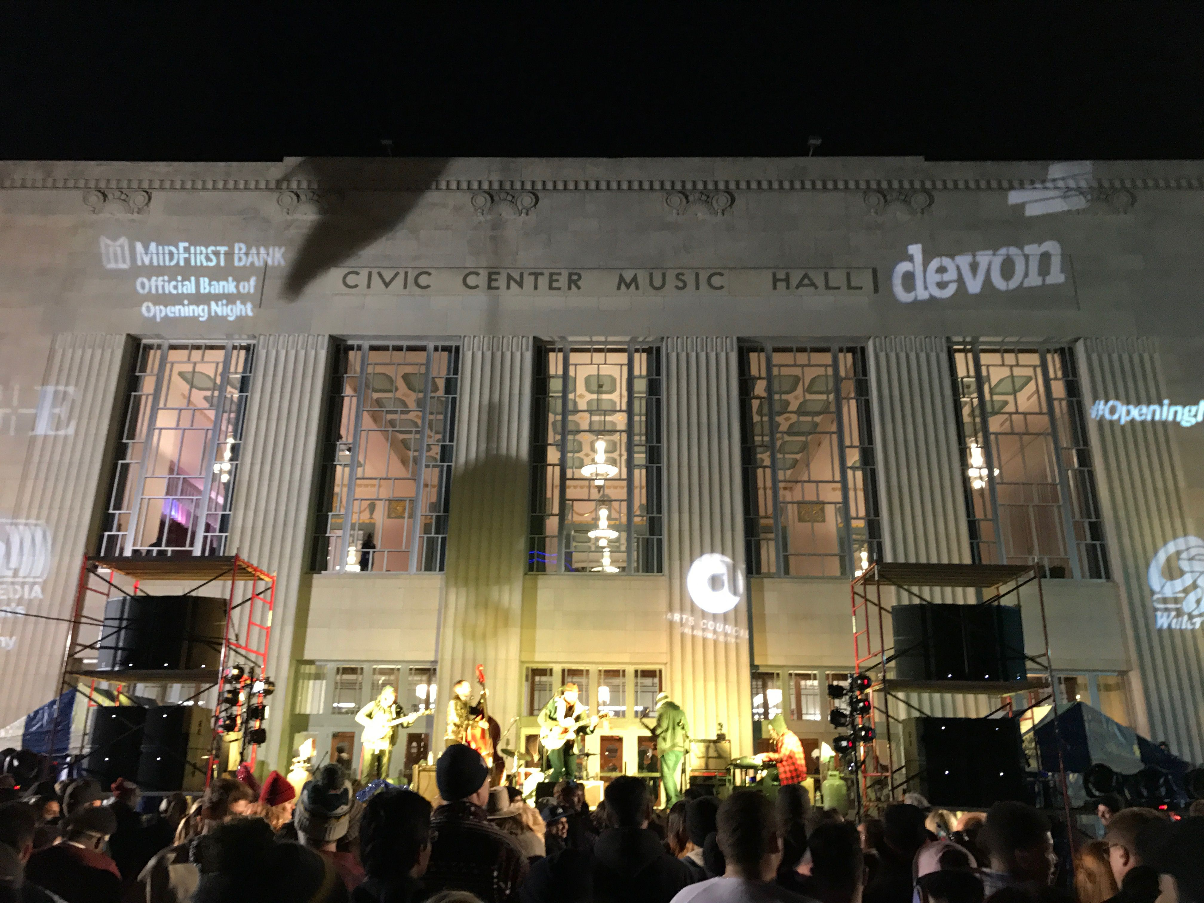Performers at Civic Center Music Hall