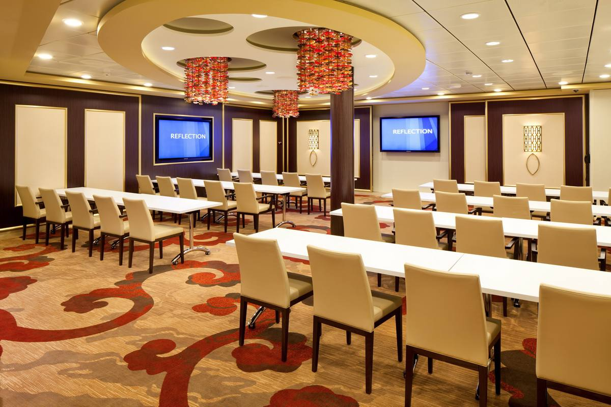 The Conference Center on the Celebrity Reflection cruise ship