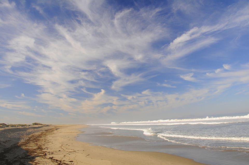 View of the Beach in Ventura