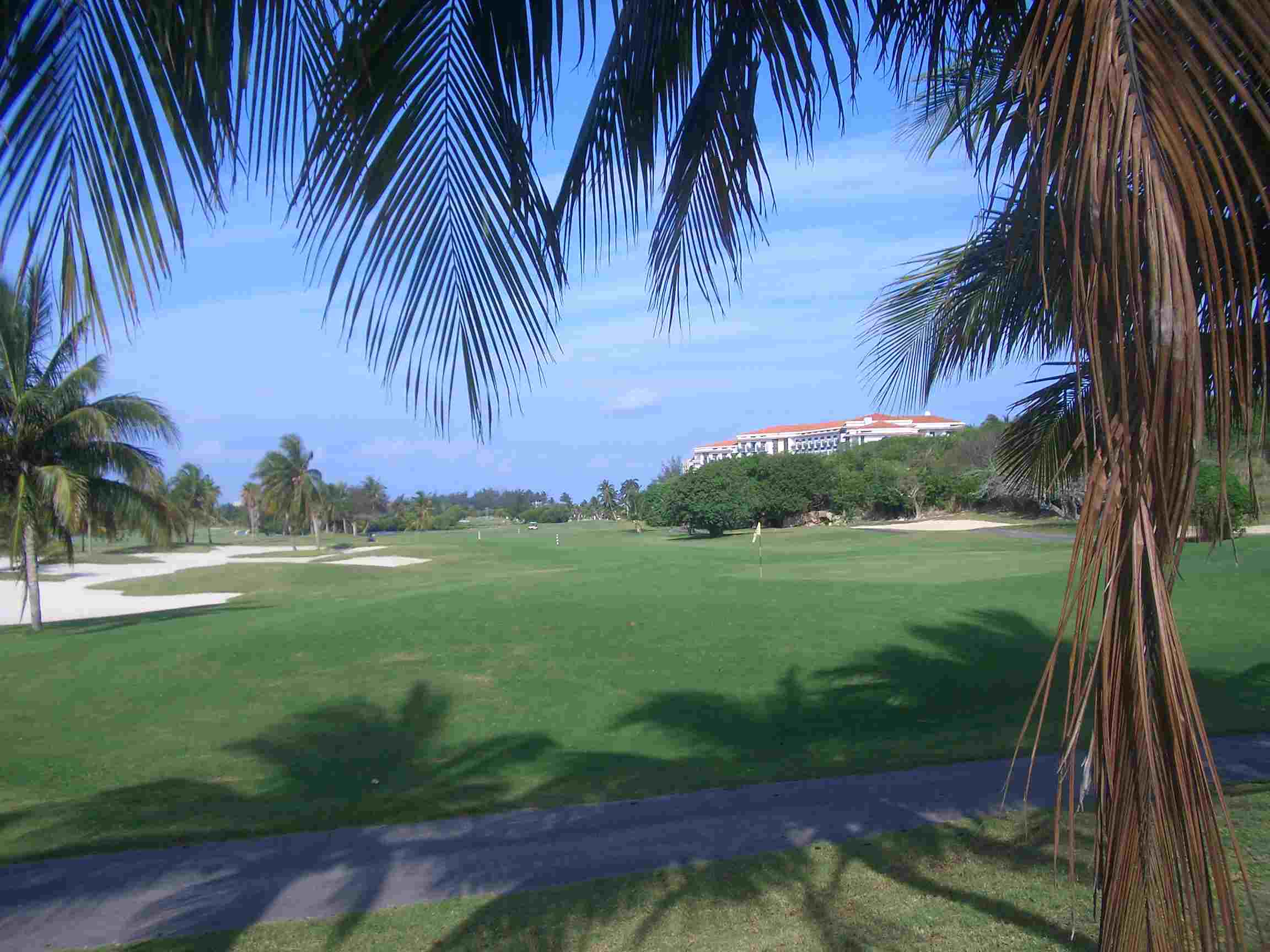 Varadero Golf Course in Cuba