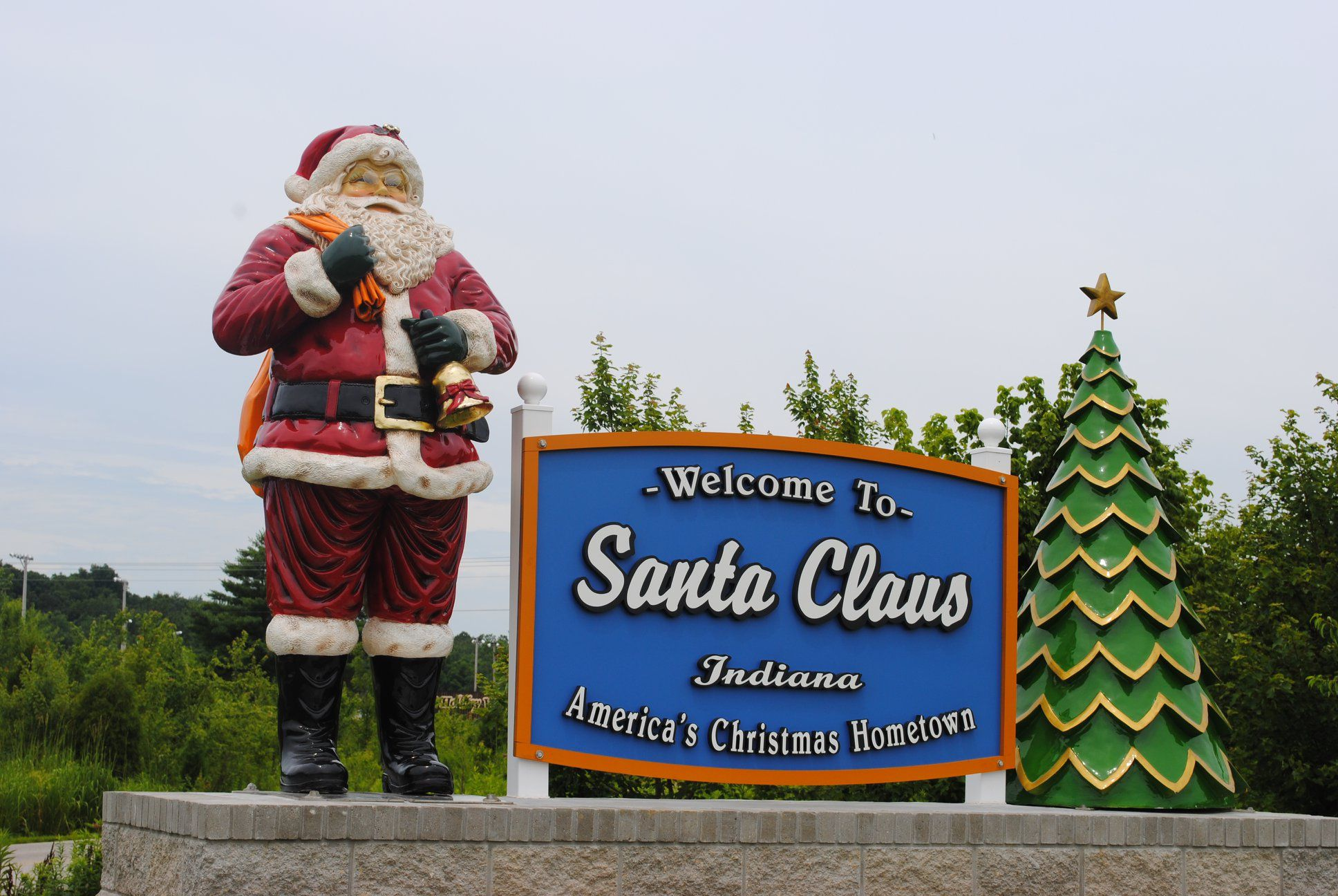 Great Places to See Santa