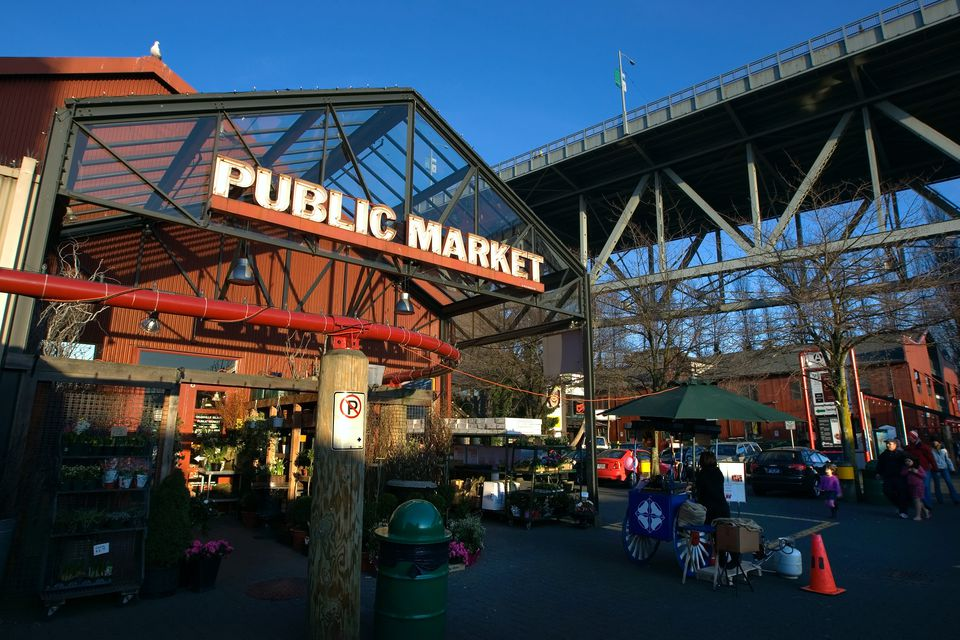 Entrance to the Granville Public Market