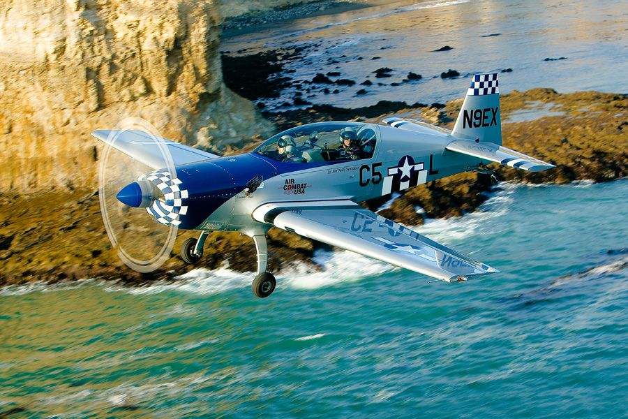 SkyThrills Air Combat Flight