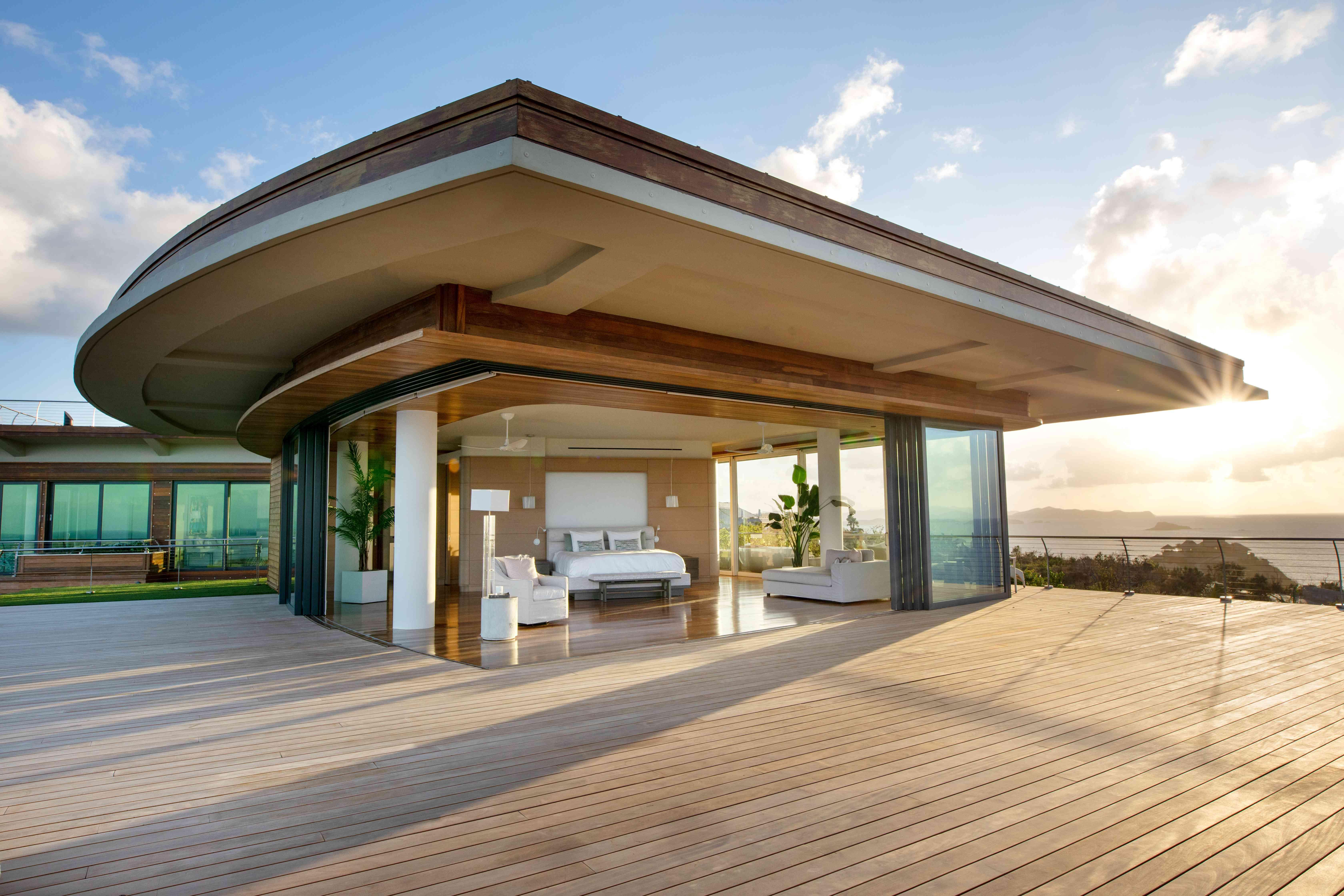 Oasis master bedroom at Moskito Island