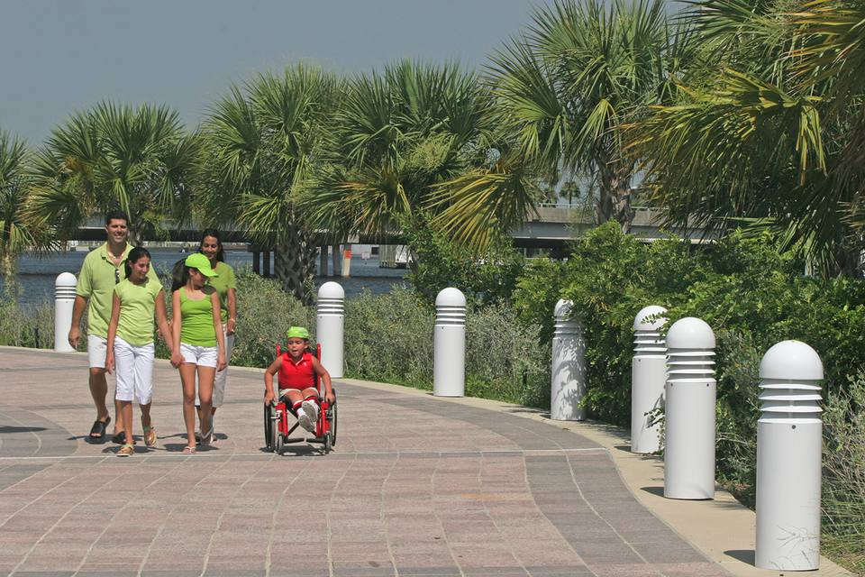 Tampa park wheelchair