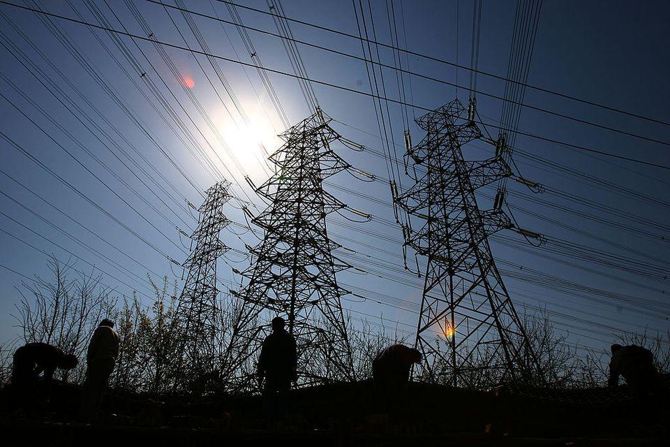 Utilities poles