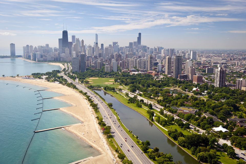 Chicago beachfront