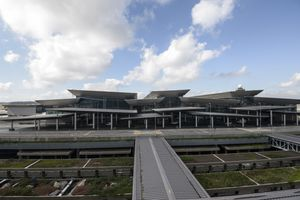 An external view of the recent inaugurated Terminal 3, Guarulhos International Airport