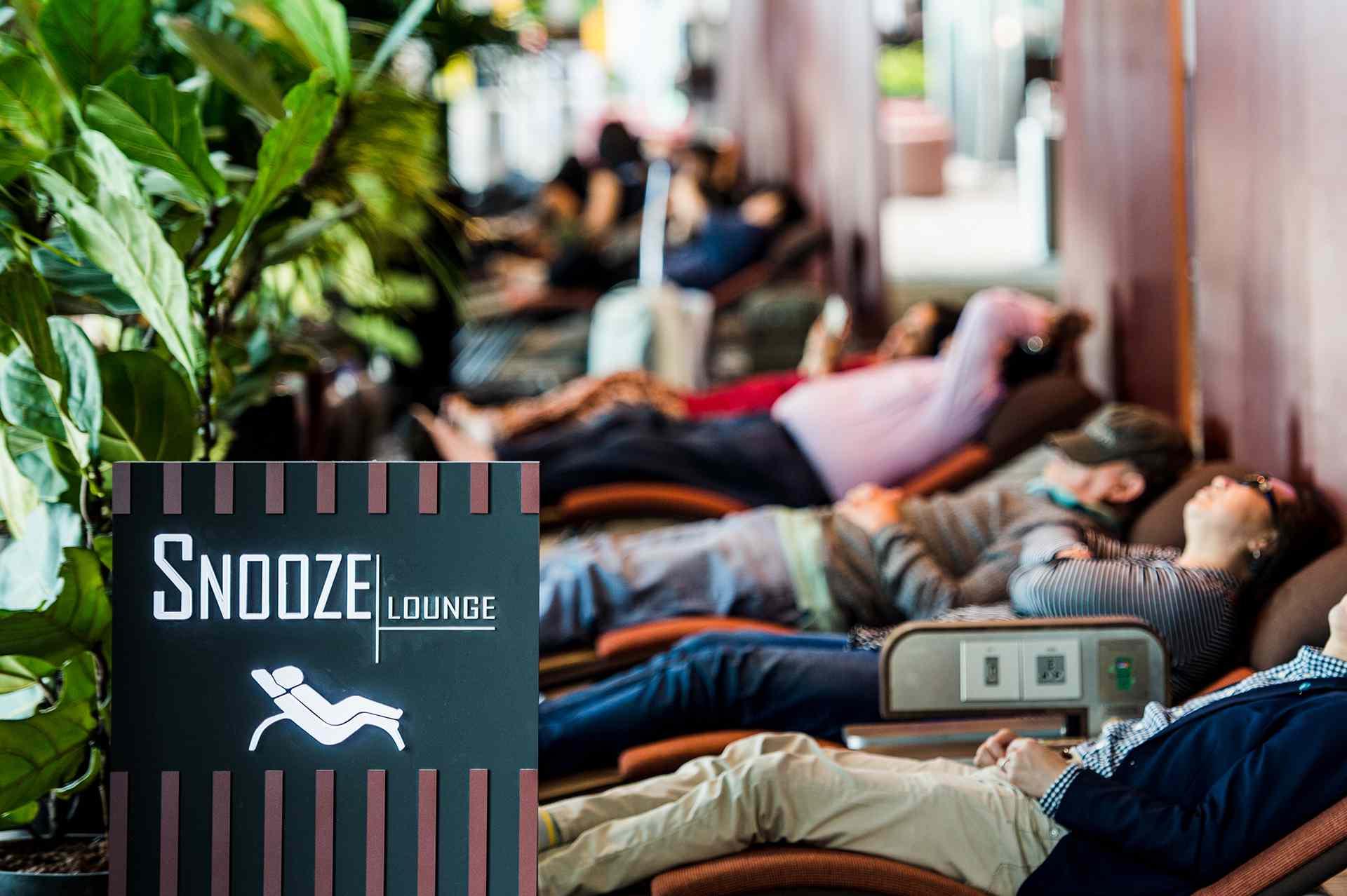Snooze Lounge, Changi Airport, Singapore