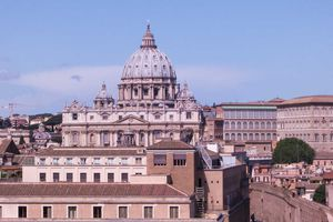 Dome of St. Peters. Vatican City