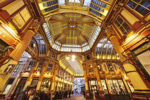 England,London,The City,Leadenhall Market