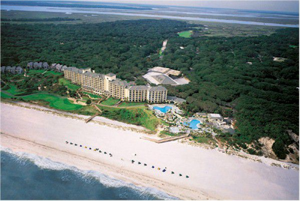 Aerial view of Amelia Island Plantation