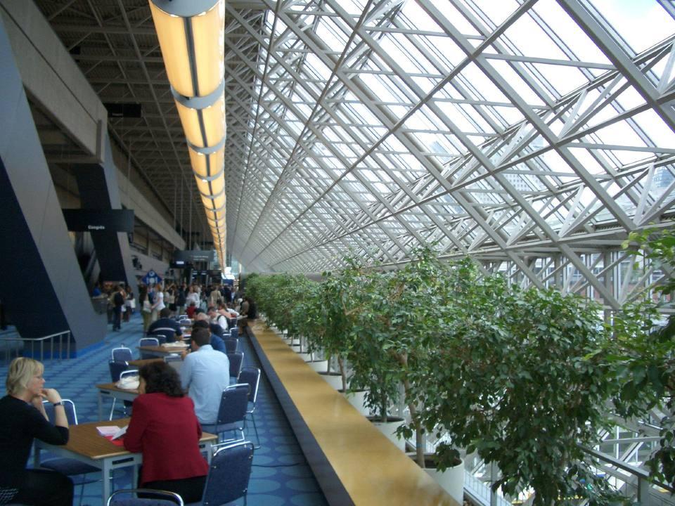 Montreal convention centre Palais des congrès is the city's largest conference facility.