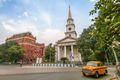 Dalhousie area of Kolkata, India.