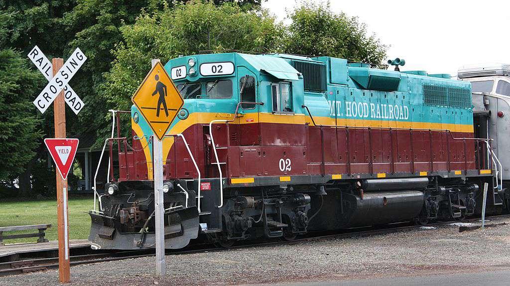 Mt. .Hood railroad