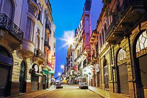 Street scenes, Central Montevideo,Uruguay