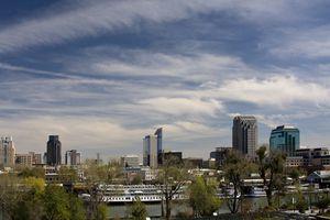 Downtown Sacramento skyline
