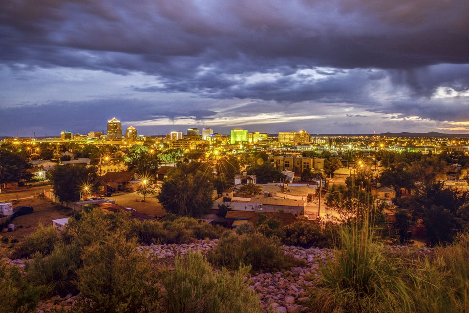Albuquerque Skyline - New Mexico