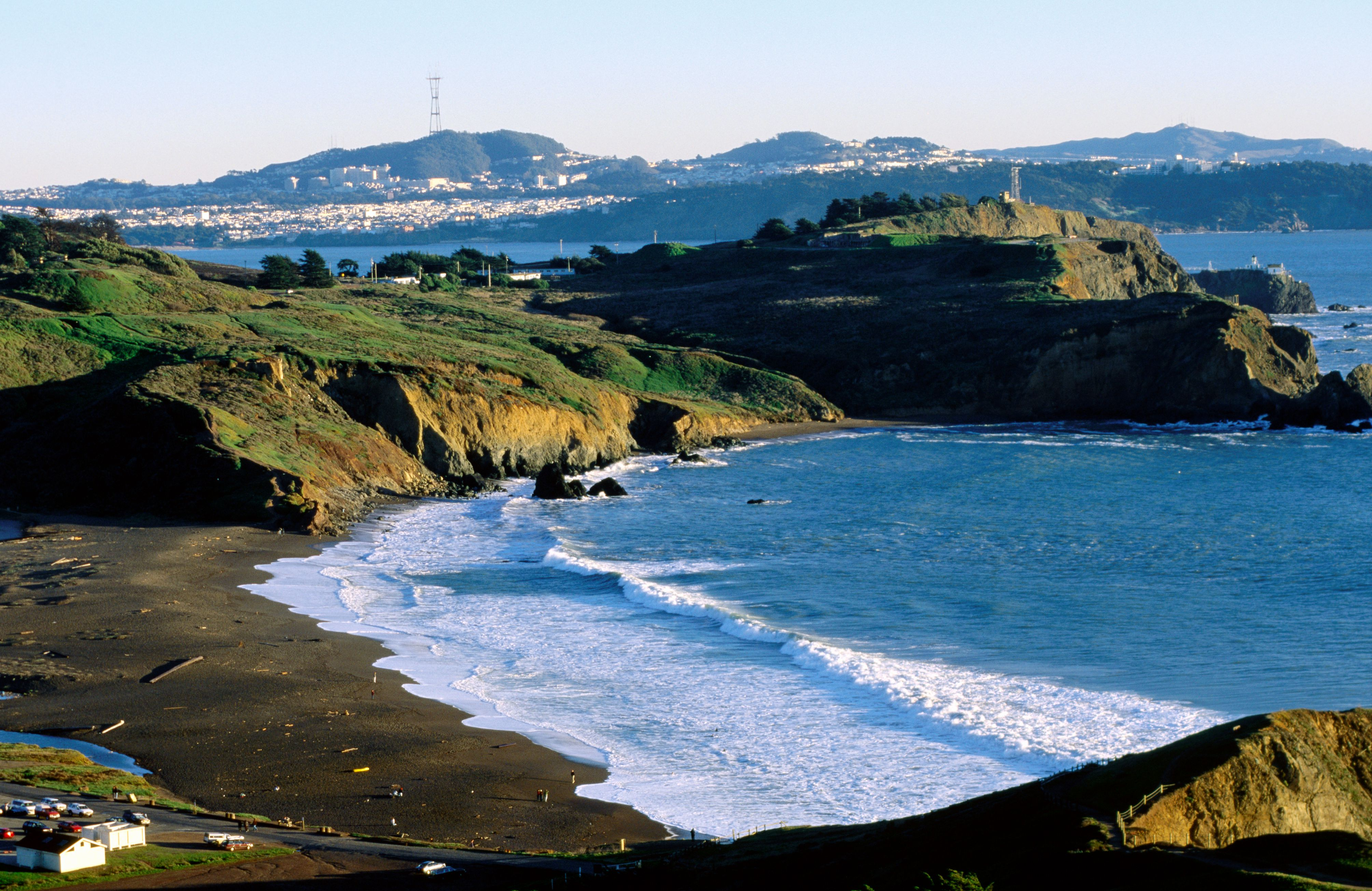 Rodeo Beach at Marin Headland in Golden Gate National Recreation Area
