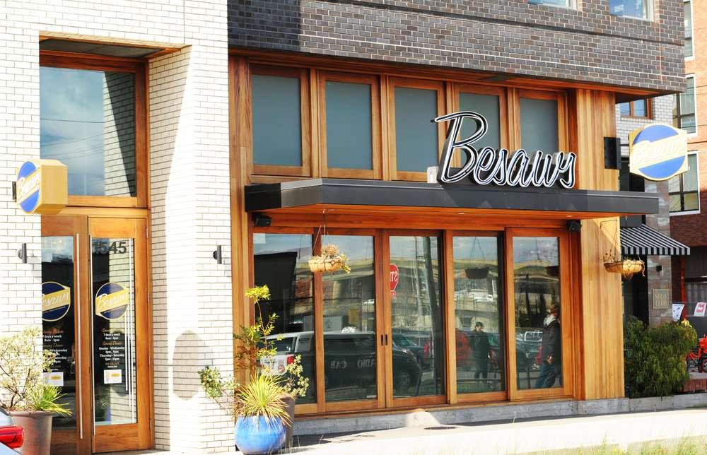 Besaw's Exterior