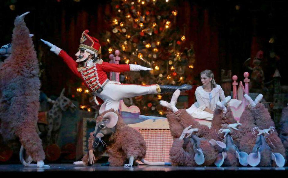 A performance of The Nutcracker Ballet