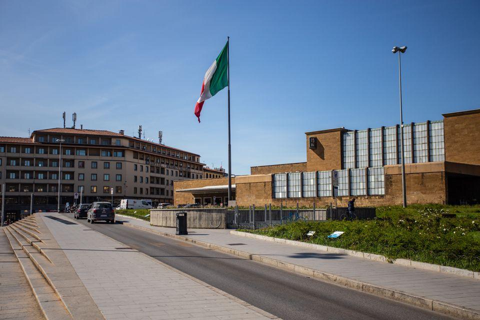 Firenze Santa Maria Novella Railway Station in Florence