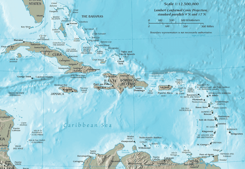 Caribbean Maps Show Where Your Cruise Is Going