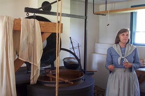 Cheesmaking at Zoar Village, Zoar Ohio