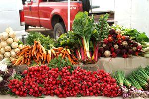 National City Farmers' Market Display