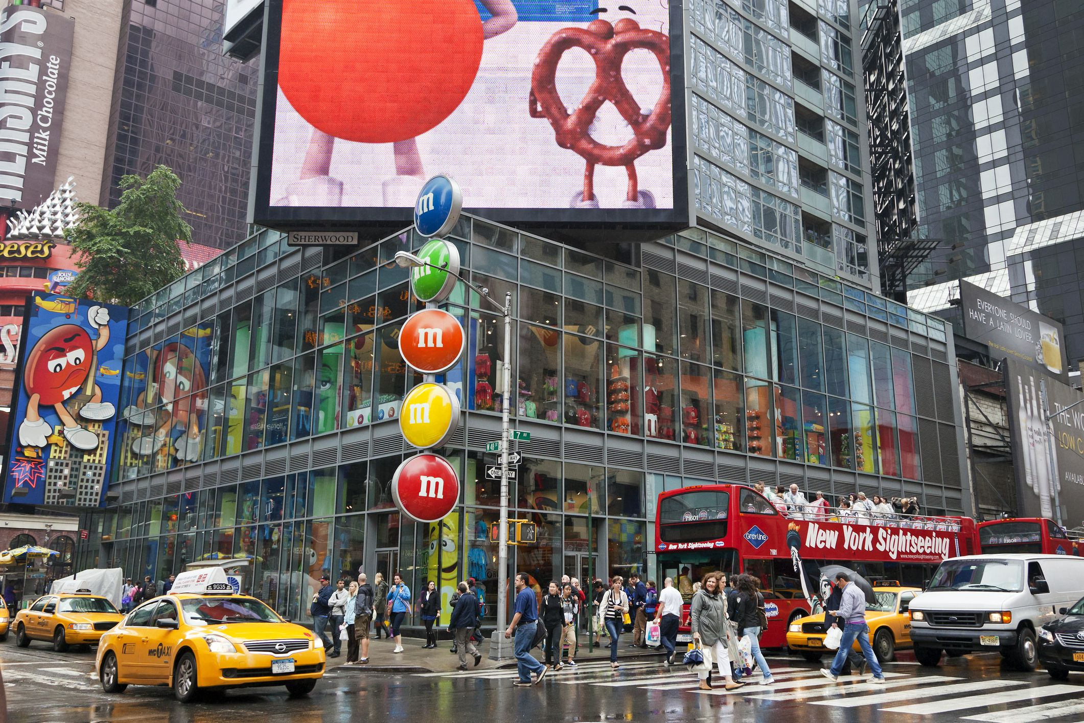 M & M's World Times Square Nueva York