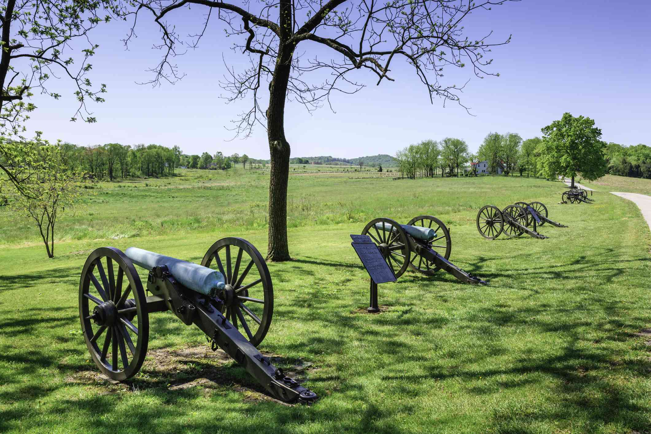 Cannons at Gettysburg, PA