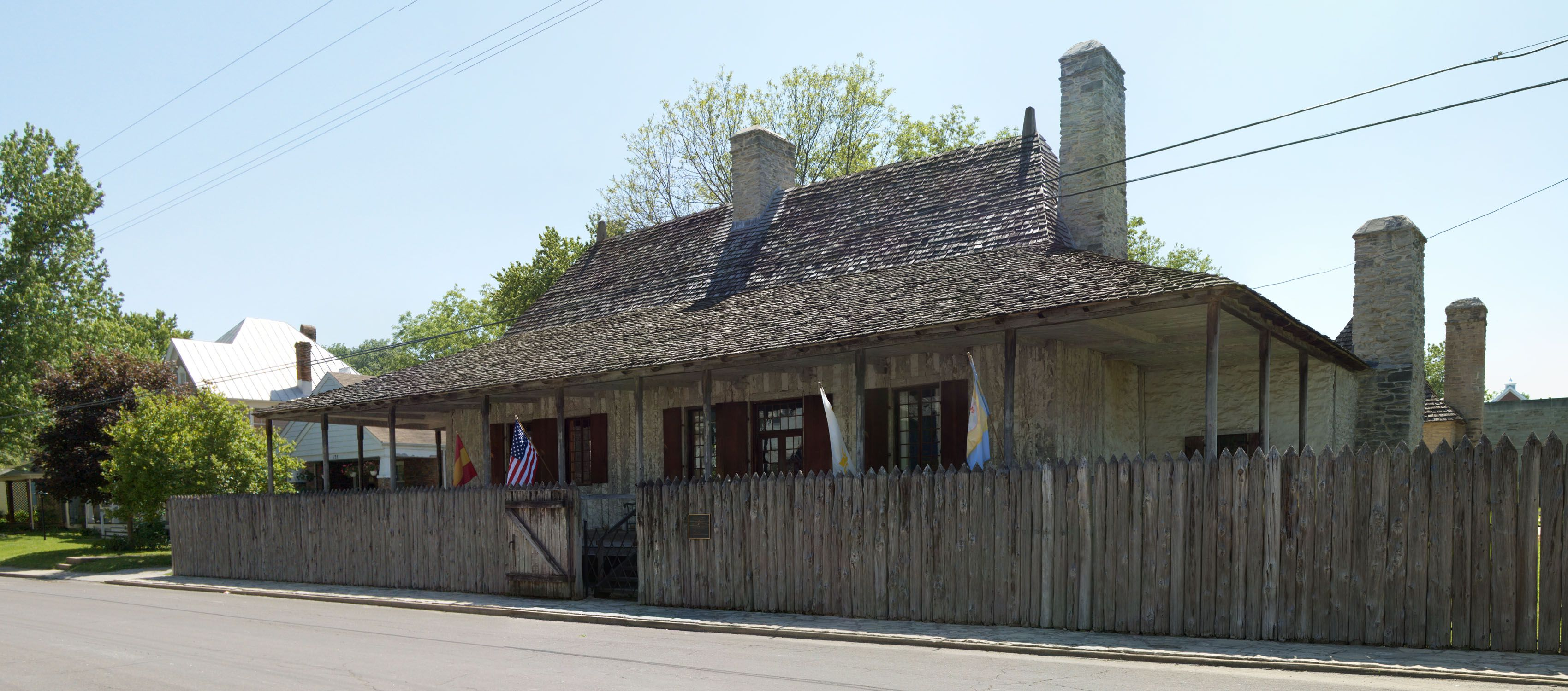 Bolduc house in Ste Genvieve, Missouri