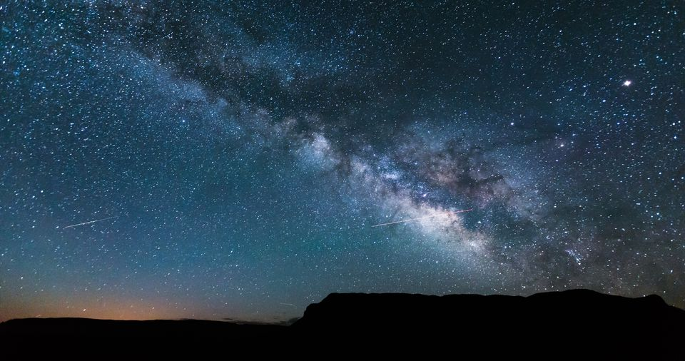 The Milky Way as seen from Grand Canyon National Park.
