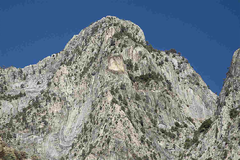 Granite Domes tại núi Sierra Nevada