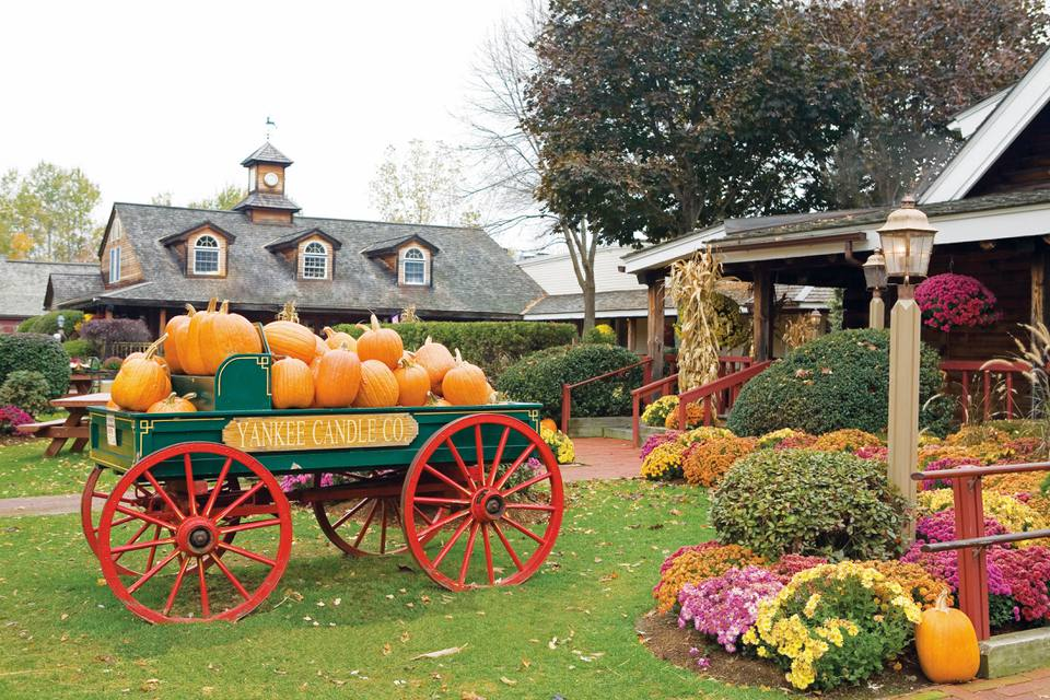 Yankee Candle Village, South Deerfield, MA