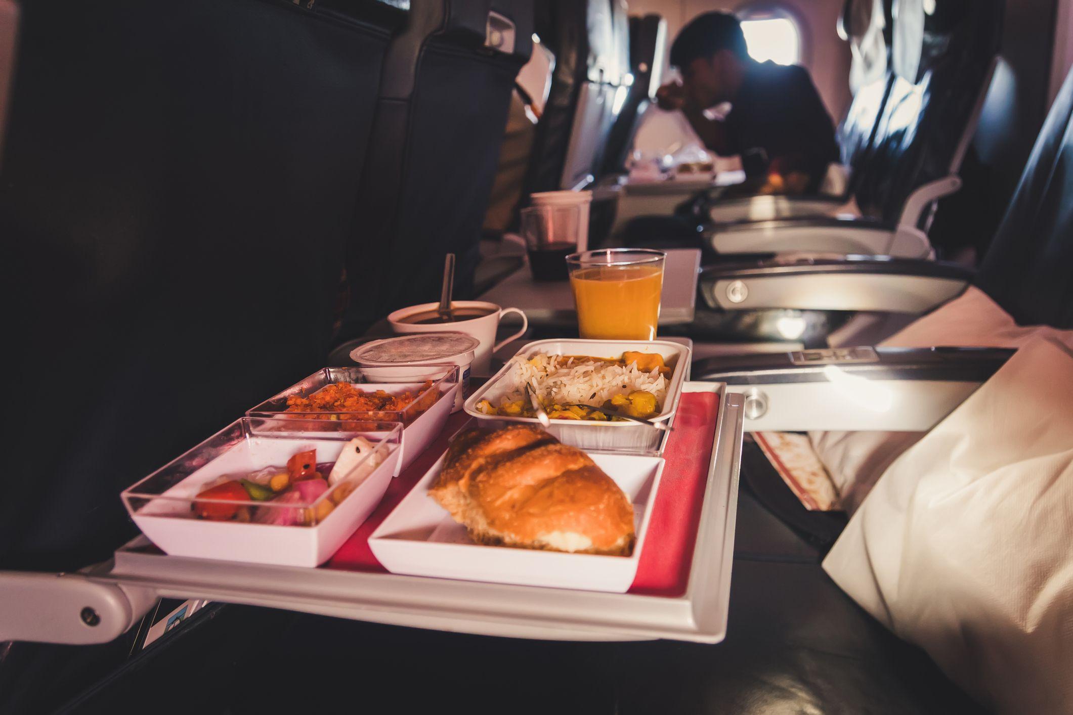 World's Worst Airplane Food