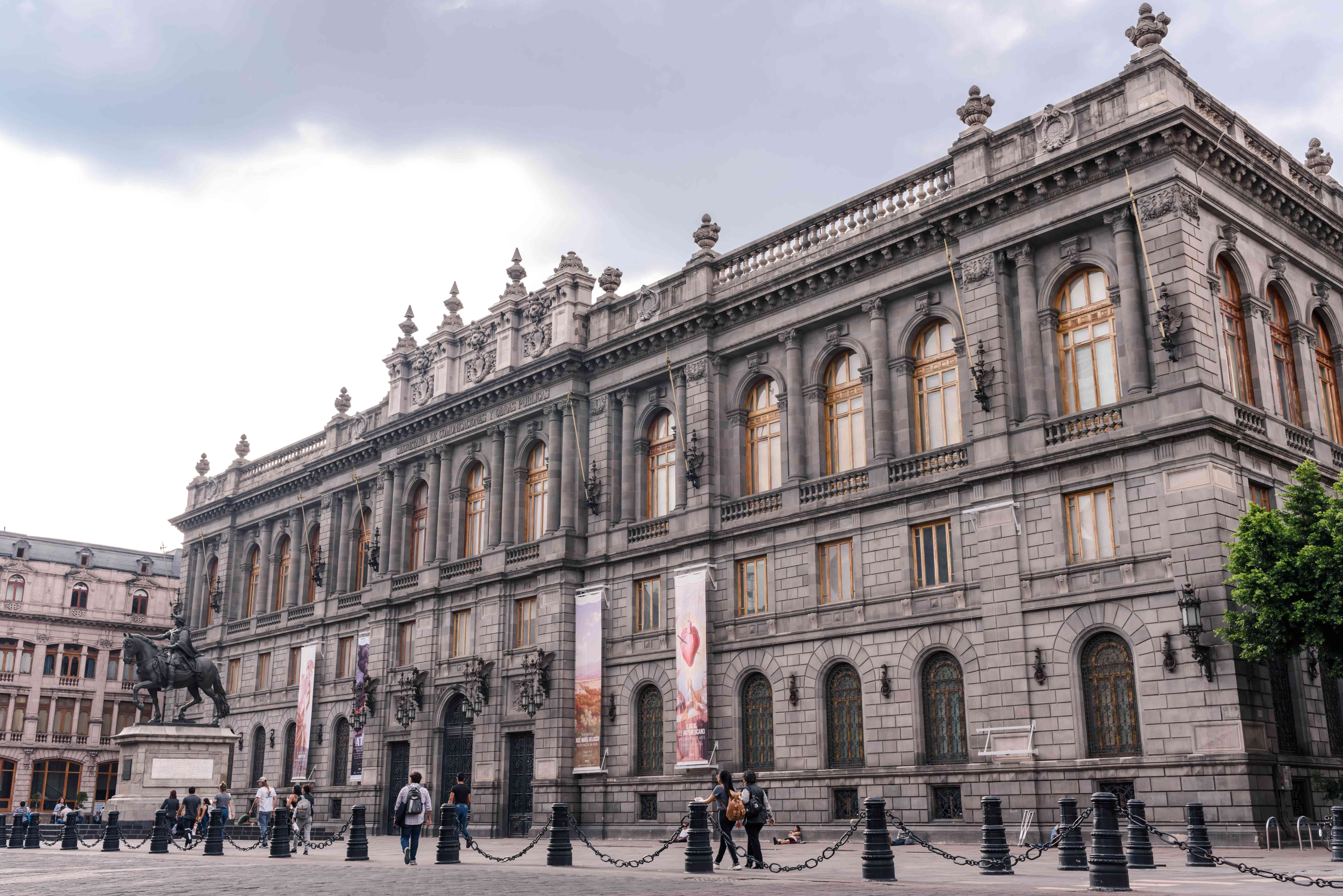 exterior of the national art museum