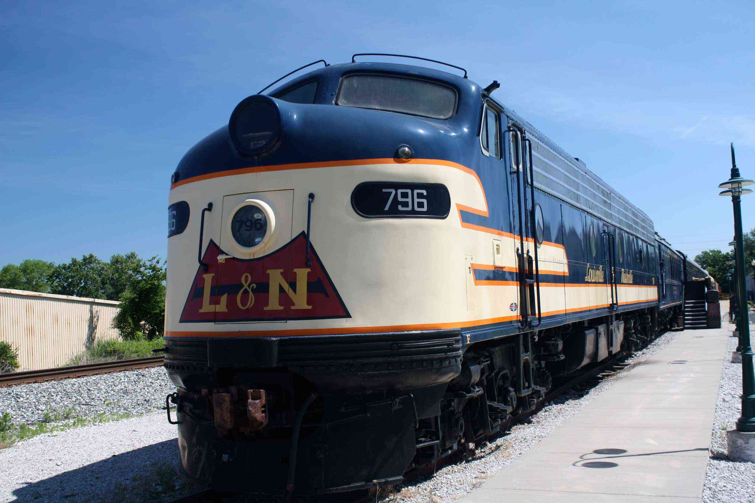 The 796 E-8 Locomotive