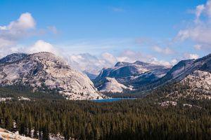 Tioga Pass landscape, Yosemite National Park, California, USA