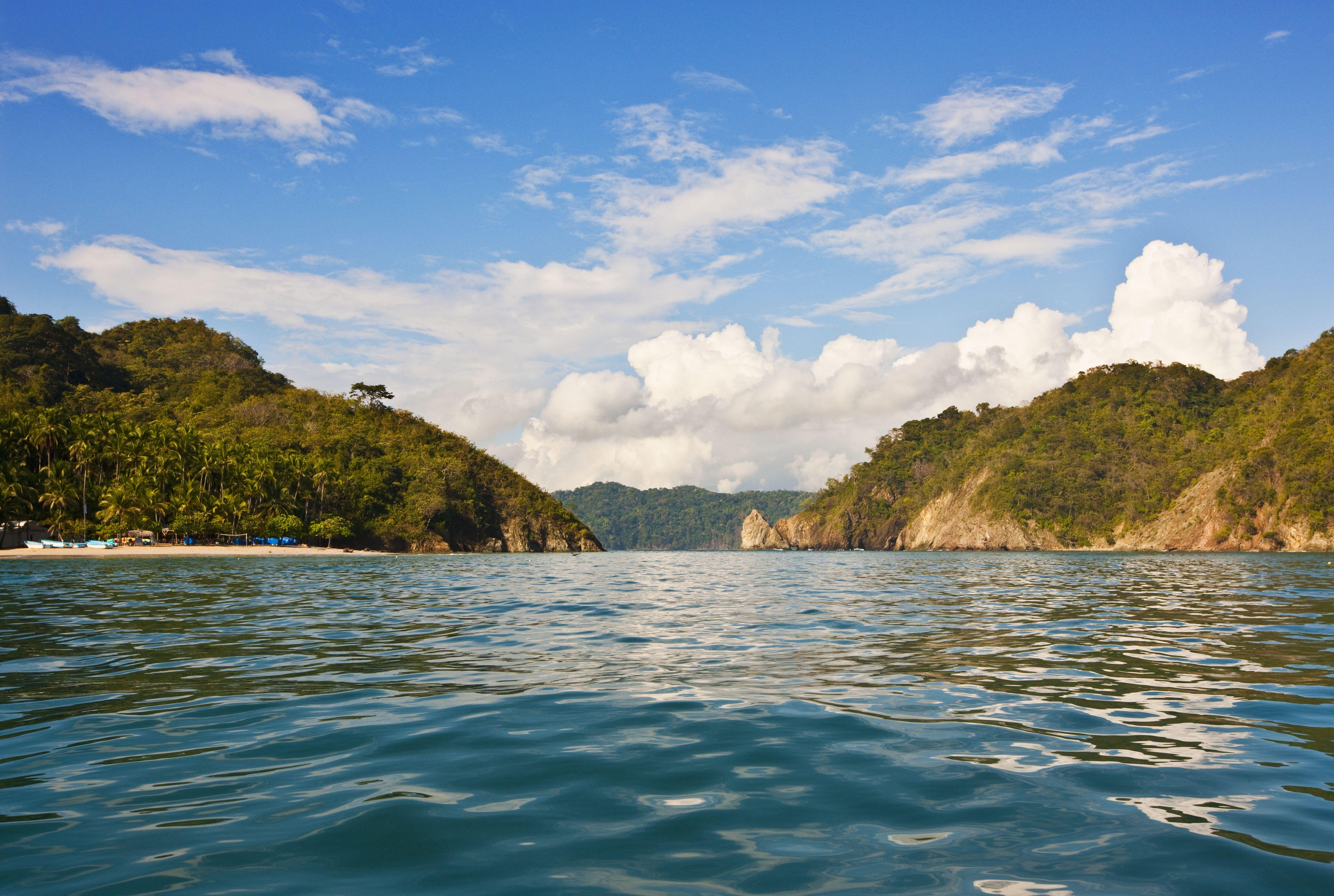 Península de Nicoya - Tambor. Viaje en barco a la isla Tortuga.