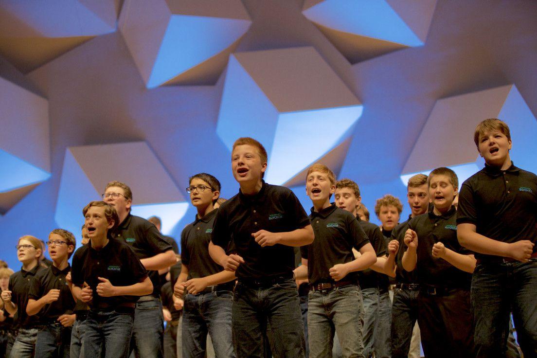 Performance by the Minnesota BoyChoir