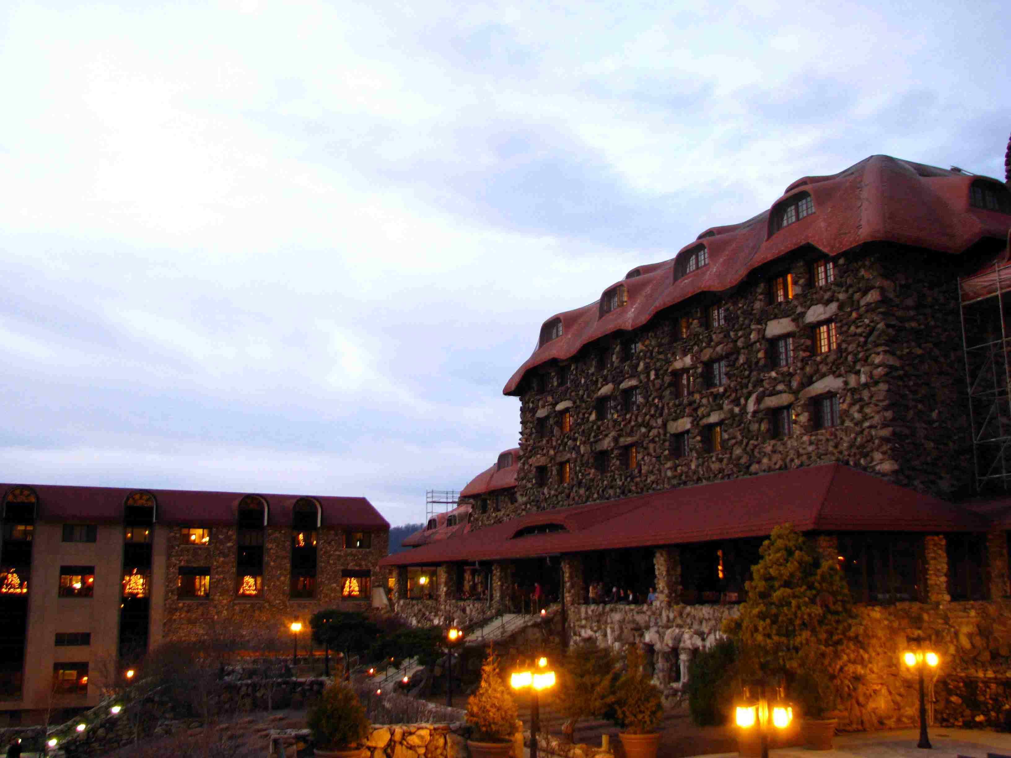 Grove Park Inn Resort and Spa, on Sunset Mountain