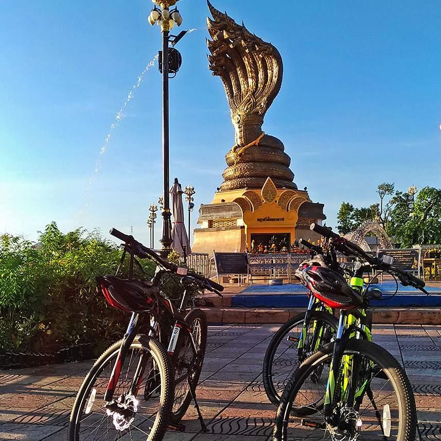 Mountain bikes, Nakhon Phanom
