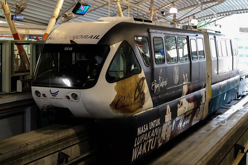Monorail at Bukit Bintang, Kuala Lumpur